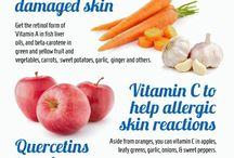 Healthy skin recipes