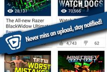 View your favorite YouTuber's most recent videos on the Home Page! / View your favorite YouTuber's most recent videos on the Home Page!  Tube Alert Android application is available on Google Play Store for dowload. : http://bit.ly/1fs8id0# TubeAlert# GooglePlayStore. Get notified when your favorite Youtubers upload videos over Youtube. Even Youtube client does not send notification.