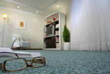 New Wave - Carpete em rolo / Fabricado com TRISM®, última geração de fios à prova de manchas para carpetes, New Wave® pode ser usado em ambientes residenciais e comerciais com tráfego leve. Seu visual mesclado, e ampla variedade de cores, garantem um produto moderno, com ótima solidez à luz e retenção da aparência por muito mais tempo