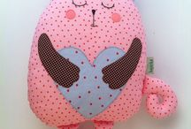#Cat the #pillow / The fat #cat with heart #pillow #cuddle #huggable necessary #soothing stuff for kids