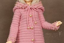 Winter crochet for dolls