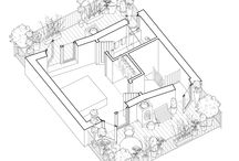 Lightbox Drawings / the layout options and spatial qualities of the Lightbox House