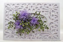 DIY The Art of Quilling / Quilling. Decorations, frames, cards and patterns all using the skill of folding or rolling strips of paper.