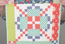 Mini Quilt Love / Mini quilt patterns and projects