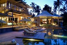 Spa Getaways / We all dream of the spa lifestyle - here are some exotic places we can dream about or go to...