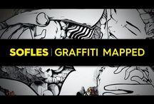 sofles graffiti mapped