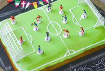 pastel campo de fútbol