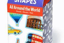 Mudpuppy / Amerykańska marka zabawek specjalizujących się w projektowaniu puzzli i magnesów. Zabawki charakteryzują się bardzo kolorowym wzornictwem, wyraźnymi i ciekawymi nadrukami.