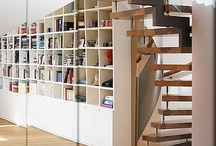 Small space stairs, storage and mud rooms / by Lyra Kelsey