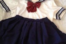 Seifuku / Look school japanese