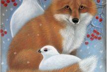 suomen eläimiä piirretty