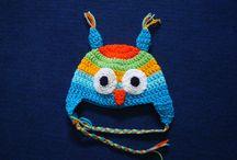 Gorros infantiles / Gorros tejidos a crochet