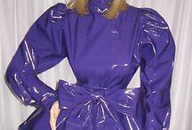 pvc,latex šaty a obleky