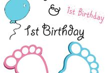 Baby Shower & 1st Birthday / De mooiste & leukste versiering!