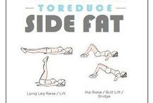 exercises to get rid of my side fat