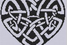 padões crochet