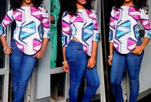 Ankara top / Follow for beautiful Ankara top styles