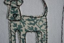 Free machine embroidery, quilting, applique