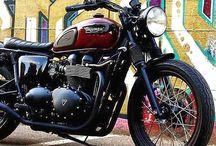 Triumph custom heritage / Only triumph