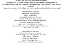 Poetry / Poem written by: Robert Shane Williams January 2012