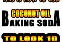 coconut oil a baking soda