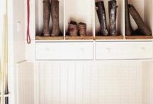 Mud Room / Entry Way Storage / by Sonya Nichole