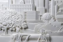 escultura em papel / ...