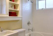 bathroom storage / by Penny Liston