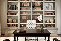 bookcases / by Vickie Boyer