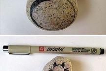 Μαρκαδόροι για πέτρες