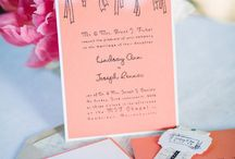 Wedding DYI / Wedding items created using custom stamps from villageimpressions.com