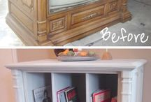 Repurposed Furniture / by Tracey Davis