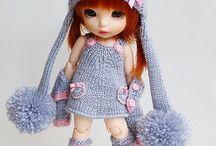 Одежда для маленьких кукол бжд