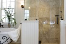 GLASS SHOWERS / Glass showers, steam rooms, luxury showers, bathroom renovation ideas. Walk in glass showers and doors.