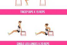 •Kayla Itsines workout Inspiration•