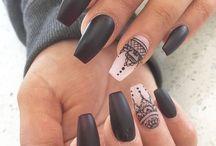 Bday nail ideas