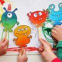 Børn, print skabeloner
