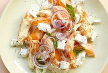 salades légumes / fruits
