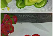 crafts using food items