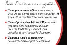 www.puces-privées.com / plateforme sociale et mise en relations des marchands d'art ancien et des chineurs...Je crée des contacts, je chine, je vends...
