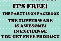 Tupperware ideas etc.