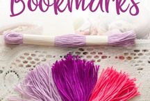 Bookmarks / Handmade Bookmarks, bookmark tutorials, bookmarks for bible journaling, journaling and planners