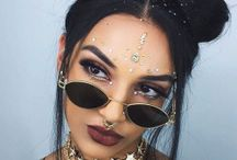 Glitbit ❤ FESTIVAL VIBES : FESTIVAL MAKEUP, FESTIVAL FASHION, FESTIVAL HAIR IDEAS / find your best ideas for festival makeup, hairstyles and fashion outfit inspirations