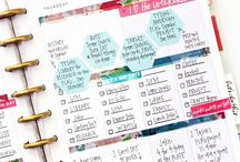 Planners | Disc Bound / Disc Bound Planners, Happy Planner, Arc,  printables, ideas, tips