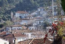 Şirince, Türkiye / Old houses at Şirince