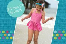 Girls Active Wear PDF Patterns