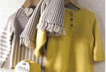 Baby. Knitting