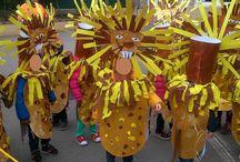 carnaval thème afrique