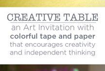 Creative Table Play - Homework Alt. / by Ella Sherman