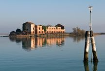 Venetian lagoon / The Venetian Lagoon is the enclosed bay of the Adriatic Sea in which the city of Venice is situated. Its name in the Italian and Venetian language, Laguna Veneta has provided the international name for an enclosed, shallow embayment of salt water, a lagoon.